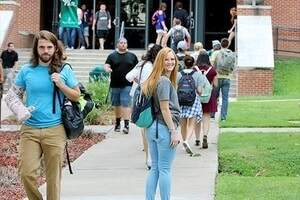 nsu students on campus