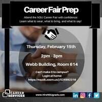 Career Fair Prep Workshop