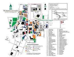 Nsu Campus Map Nsu Tahlequah Campus Map | shamanichorsework