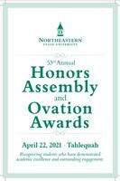 53rd annual ovation awards to recognize student acheivement at tahlequah on april 22 2021 cover page