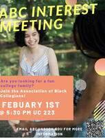 Association of Black Collegians Interest Meeting