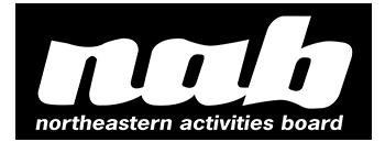 NORTHEASTERN ACTIVITIES BOARD Logo