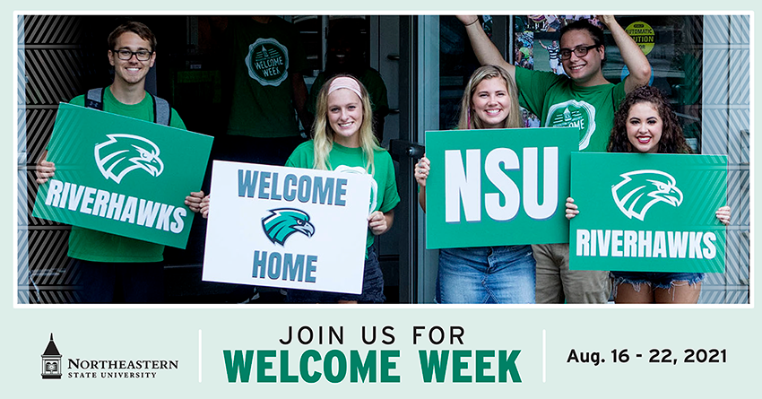 Welcome Week 2021 Graphic
