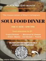 Association of Black Collegians - Soul Food Dinner