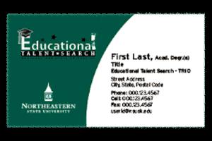 trio business card