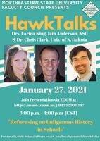 Hawk Talk Flyer January 27 2021