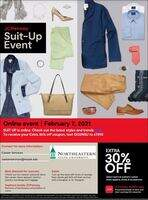 JCPenney Suit-Up Online Event