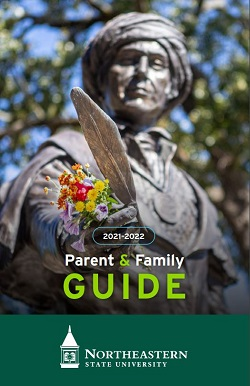 cover image for the nsu parent guide for the year 21-22