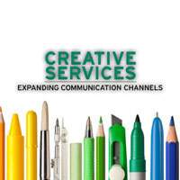 Creative Services, expanding communication channels