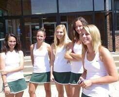 Image of NSU Tennis Team