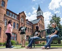 nsu students at seminary hall