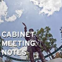 Cabinet Meeting Notes