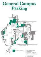 Investiture Ceremony general parking map