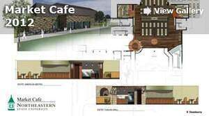 Market Cafe rendering