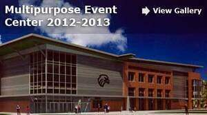 Multipurpose Event Center. View Gallery.