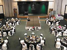 nsu meeting room with stage